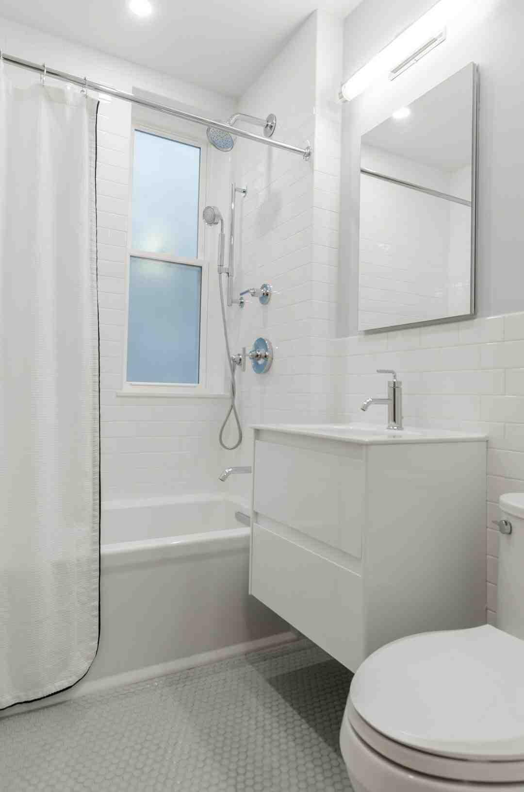 Carrelage salle de bain pierre