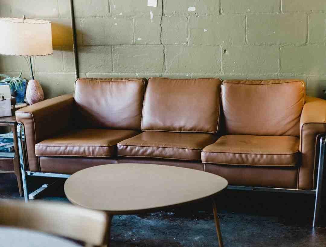 Comment réparer des éraflures sur un meuble en cuir