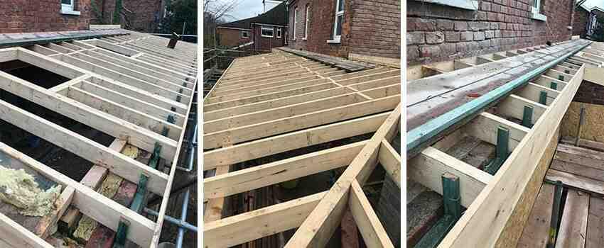 Maison bois toiture plate